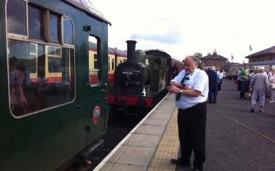 Wensleydale Railway Nigel Park Time Check