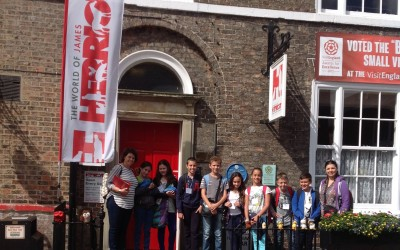 Malta School Group visit to the World of James Herriot Thirsk