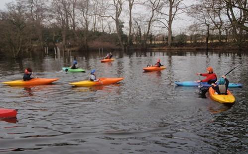 Carlton Lodge Rafting